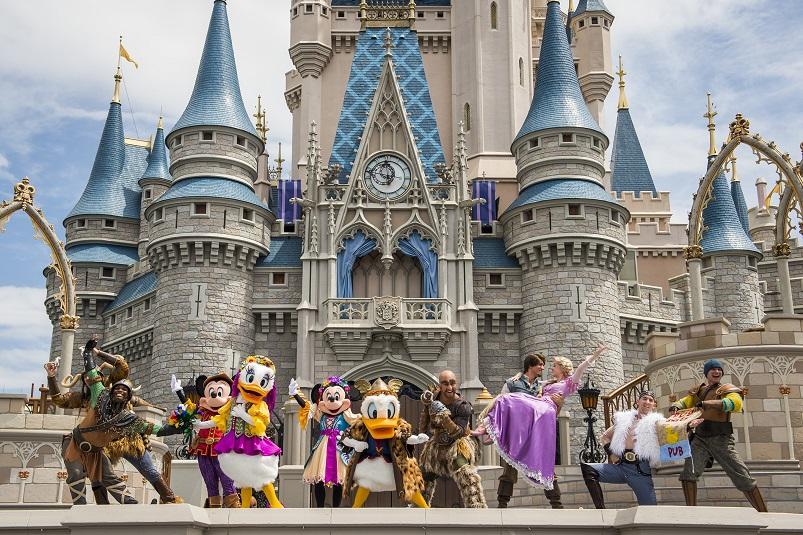 мпарк Disneyland - туры в Орландо
