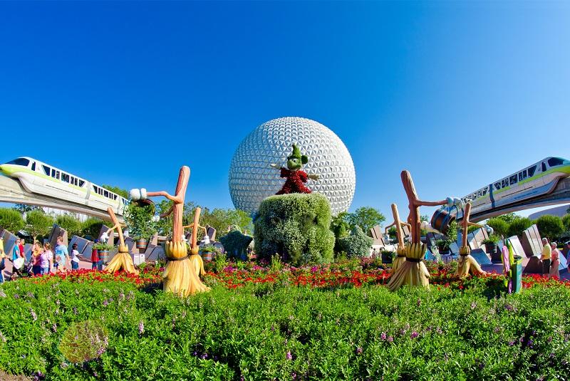 парк Disneyland - туры в Орландо