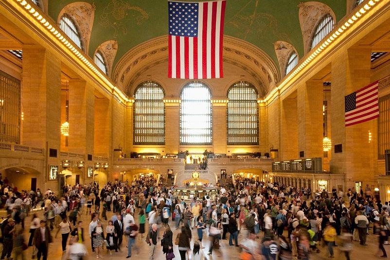 Нью-Йорк - Вокзал Гранд Централ