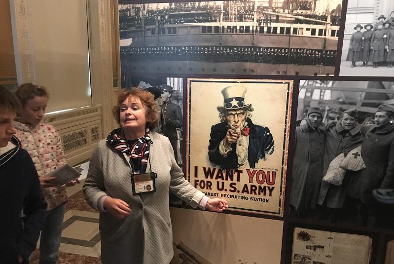 Экскурсия по Вашингтону - национальная библиотека 3