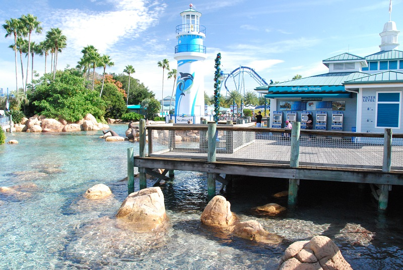 Парк SeaWorld Orlando