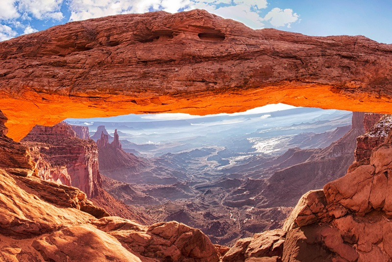 Парк Каньонлендс - Меза Арка (Mesa Arch Canyonlands)