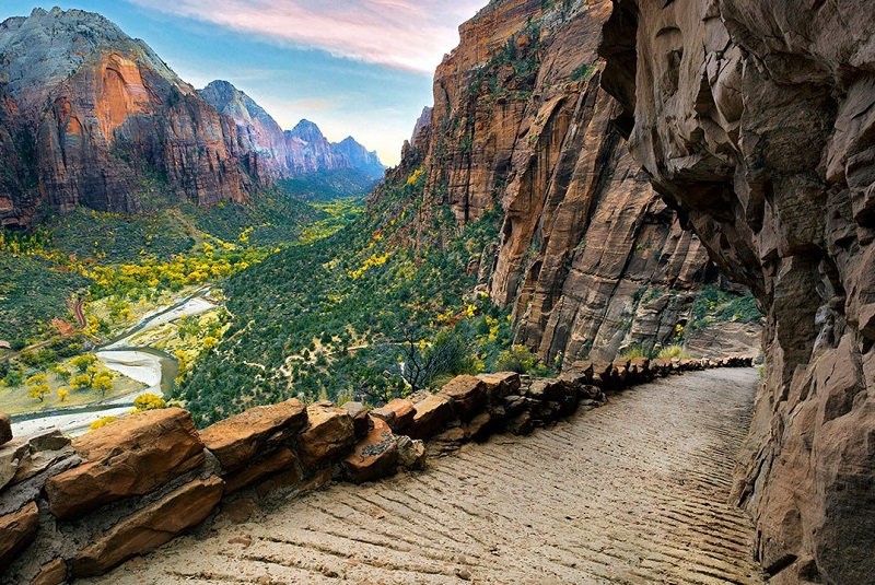 Зион Каньон Zion National Park Юта